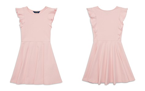 Polo Ralph Lauren Girls' Ruffled Ponte Dress - Big Kid - Bloomingdale's_2
