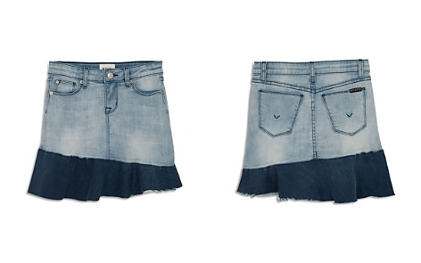 Hudson Girls' Asymmetrical-Ruffle Denim Skirt, Big Kid - 100% Exclusive - Bloomingdale's_2