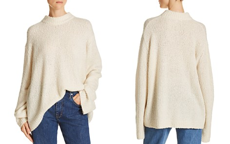 Elizabeth and James Josette Bouclé Sweater - Bloomingdale's_2
