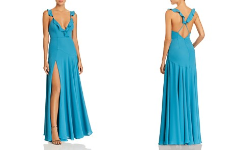 Fame and Partners Cora Plunging Gown - Bloomingdale's_2