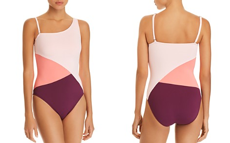Bleu Rod Beattie Around The Block Asymmetric One Piece Swimsuit - Bloomingdale's_2