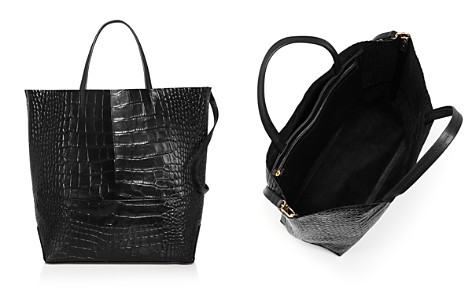 Alice.D Large Croc-Embossed Leather Tote Bag - 100% Exclusive - Bloomingdale's_2