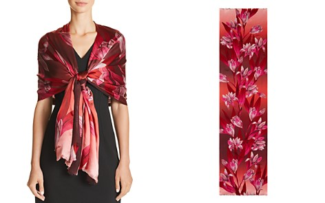 Echo Cascading Floral Print Scarf - Bloomingdale's_2