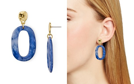 AQUA Oval Lucite Earrings - 100% Exclusive - Bloomingdale's_2