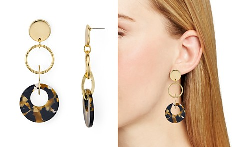 AQUA Tortoise Lucite Earrings - 100% Exclusive - Bloomingdale's_2
