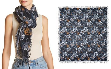 Chan Luu Painterly Floral Print Scarf - Bloomingdale's_2