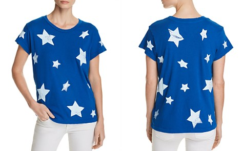 Current/Elliott The Relaxed Star Print Tee - Bloomingdale's_2