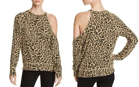 LNA Fynn Cutout Leopard Print Sweatshirt - Bloomingdale's_2