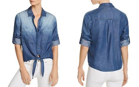Bella Dahl Tie-Front Chambray Shirt - Bloomingdale's_2