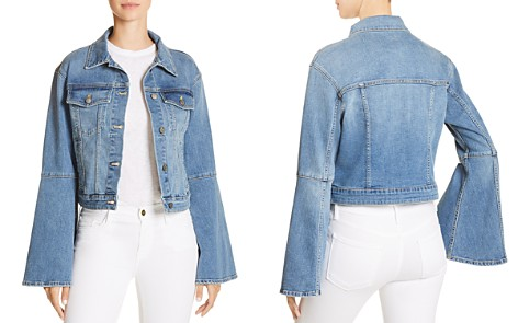 Joe's Jeans Bell Sleeve Denim Jacket in Jaclyn - Bloomingdale's_2