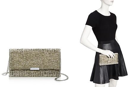Loeffler Randall Medium Textured Fabric Clutch - Bloomingdale's_2