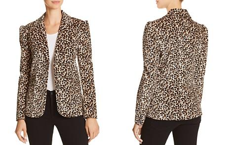 Rebecca Taylor Leopard-Printed Velvet Blazer - Bloomingdale's_2
