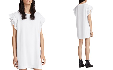 ALLSAINTS Senna Adelaide Eyelet-Sleeve T-Shirt Dress - Bloomingdale's_2