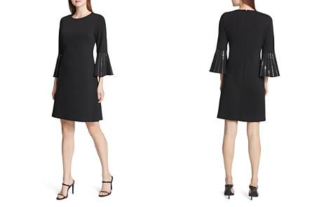 Calvin Klein Embellished Bell-Sleeve Dress - Bloomingdale's_2