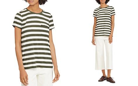 Lauren Ralph Lauren Striped Pocket Tee - Bloomingdale's_2