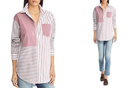 Lauren Ralph Lauren Mixed-Stripe Shirt - Bloomingdale's_2
