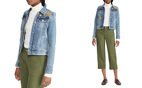 Lauren Ralph Lauren Embellished Denim Jacket - Bloomingdale's_2
