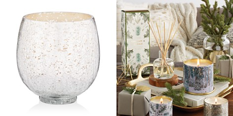 Illume Balsam & Cedar Small Crackle Glass Candle - Bloomingdale's_2