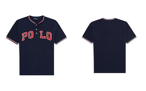 Polo Ralph Lauren Boys' Cotton Mesh Henley Shirt - Big Kid - Bloomingdale's_2