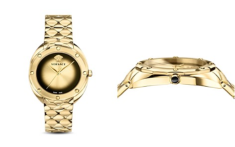 Versace Collection Shadov Gold Bracelet Watch, 38mm - Bloomingdale's_2