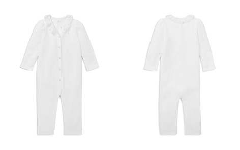Ralph Lauren Girls' Ruffled Cotton Coverall - Baby - Bloomingdale's_2