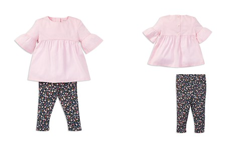 Ralph Lauren Girls' Bell-Sleeve Top & Floral Leggings Set - Baby - Bloomingdale's_2