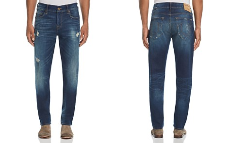 True Religion Rocco Slim Fit Jeans in Worn Carbon - Bloomingdale's_2