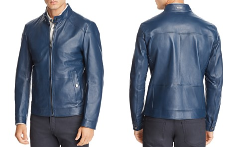 BOSS Nocan Leather Jacket - Bloomingdale's_2
