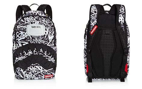 Sprayground Boys' Composition Book Print Shark Backpack - Bloomingdale's_2
