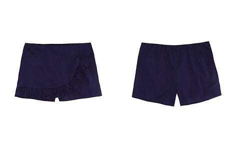 AQUA Girls' Ruffled Poplin Skirt, Big Kid - 100% Exclusive - Bloomingdale's_2