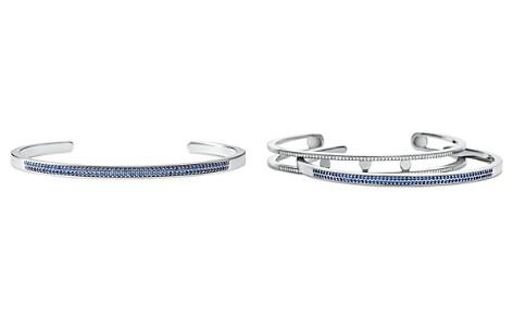 Michael Kors Custom Kors Pavé Sterling Silver Nesting Bracelet Insert - Bloomingdale's_2