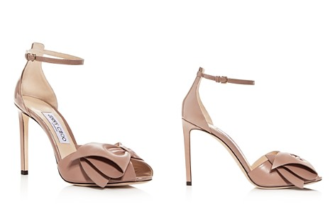 Jimmy Choo Women's Karlotta 100 Leather High-Heel Sandals - Bloomingdale's_2