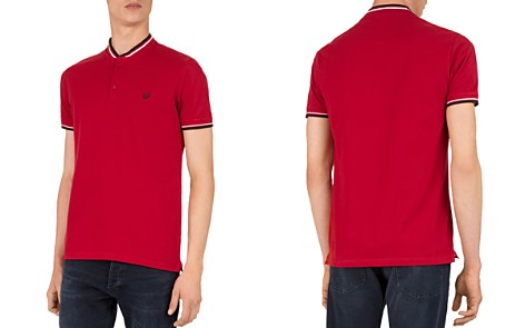 The Kooples Teddy Collar Regular Fit Pique Polo - Bloomingdale's_2