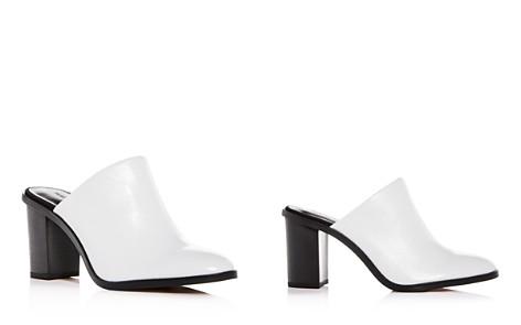 Rebecca Minkoff Women's Gavra Leather Block-Heel Mules - Bloomingdale's_2