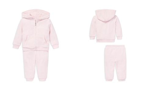 Ralph Lauren Girls' Velour Hoodie & Pant Set - Baby - Bloomingdale's_2