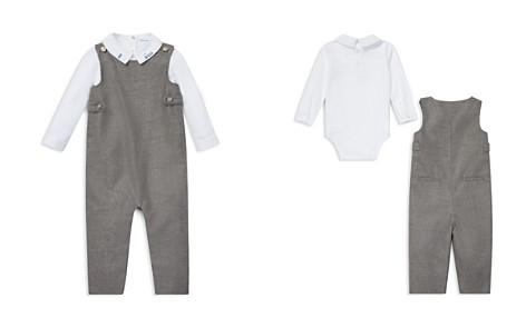 Ralph Lauren Boys' Cotton Bodysuit & Wool Overalls Set - Baby - Bloomingdale's_2