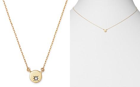 "Adina Reyter 14K Yellow Gold Diamond Tiny Circle Stamp Pendant Necklace, 16"" - Bloomingdale's_2"