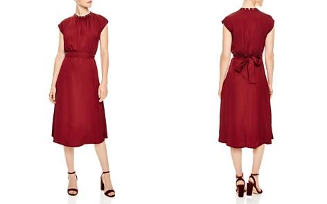 Sandro Conique Embellished-Collar Dress - Bloomingdale's_2