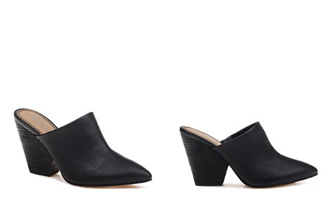 Splendid Women's Nala Pointed Toe Leather High-Heel Mules - Bloomingdale's_2