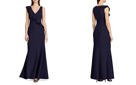 Lauren Ralph Lauren Ruffle-Trimmed Jersey Gown - Bloomingdale's_2