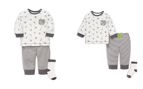 Little Me Boys' Safari Animal Tee, Jogger Pants & Socks Set - Baby - Bloomingdale's_2