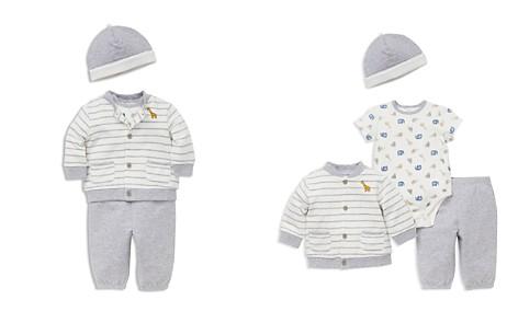 Little Me Boys' Hat, Cardigan, Bodysuit & Jogger Pants Set - Baby - Bloomingdale's_2