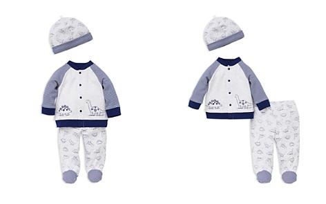 Little Me Boys' Dinosaur Cardigan, Footie Pants & Hat Set - Baby - Bloomingdale's_2