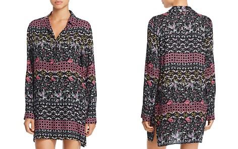 Josie Floral Print Twill Sleepshirt - Bloomingdale's_2