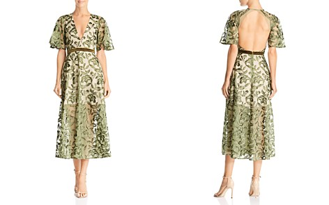 SAU LEE Lucia Embroidered Dress - Bloomingdale's_2