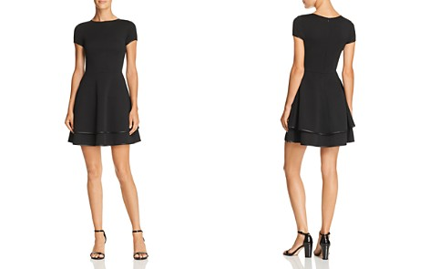 AQUA Tiered Fit-and-Flare Dress - 100% Exclusive - Bloomingdale's_2
