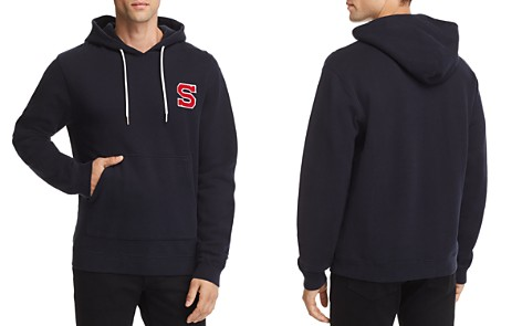 SANDRO Hoodie Patch Sweatshirt - 100% Exclusive - Bloomingdale's_2