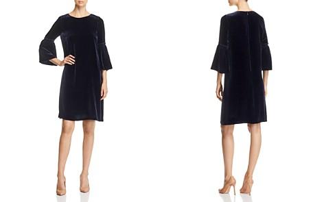 Lafayette 148 New York Roslin Velvet Bell-Sleeve Dress - Bloomingdale's_2