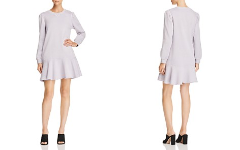 La Vie Rebecca Taylor Fleece Sweatshirt Dress - Bloomingdale's_2