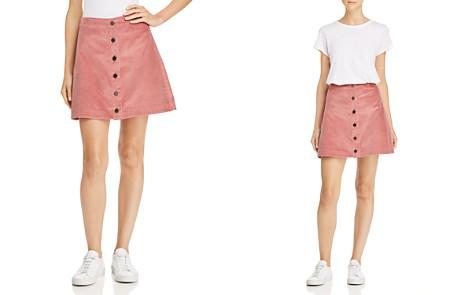 Elizabeth and James Prewitt Corduroy Mini Skirt - Bloomingdale's_2